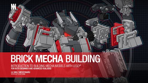 Lu Simさんのロボット講習会 | Brick Mecha Building with Lu Sim